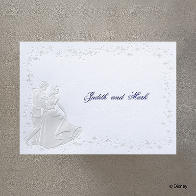 Cinderella's Carriage - Note Card and Envelope
