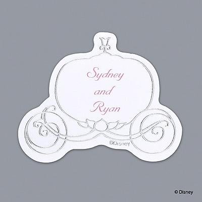 Cinderella Silver Carriage Seal - Printed