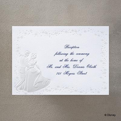 Cinderella's Carriage - Reception Card
