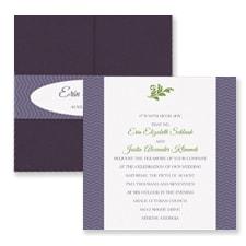 Classic Lux - Pocket Invitation
