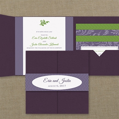 Classic Lux - Pocket Invitation