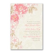 Decorative Floral - Invitation