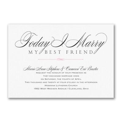 Marry Today - Invitation