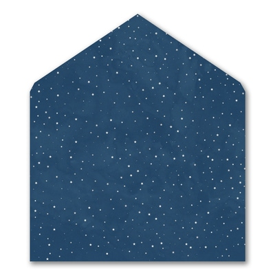 Wish Upon a Star - Envelope Liner