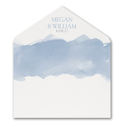 Picturesque Watercolor - Envelope Liner