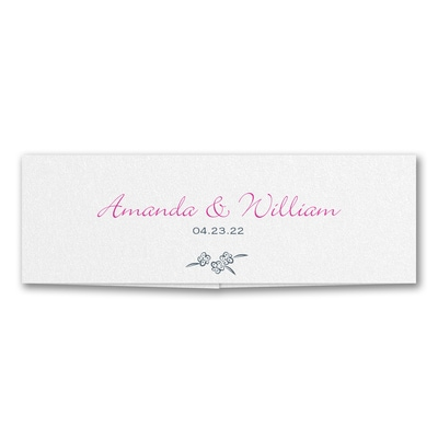 Floral Monogram - Belly Band