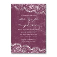 Timeless Lace - Invitation