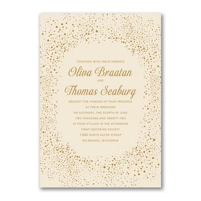 Champagne Delight - Invitation