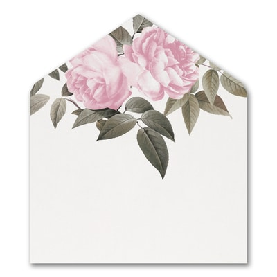 Blooming Floral - Envelope Liner