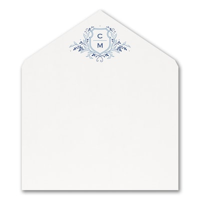 Whimsical Crest - Envelope Liner