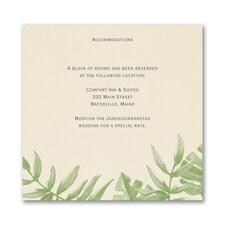Jungle Love - Accommodation Card