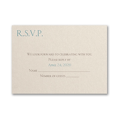 Captivating Capsule - Response Card and Envelope