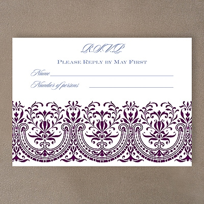 Hearts of Glory - Response Card and Envelope