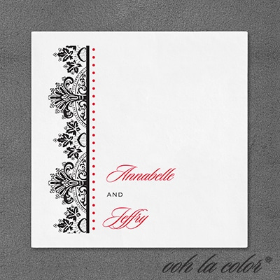 Regal Flourishes - Napkin