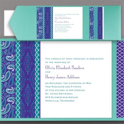 Moroccan Twilight - Pocket Invitation