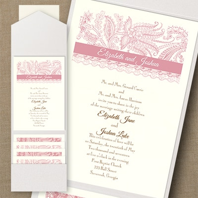 Thermo Lace Artistry - Pocket Invitation