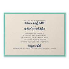 Elegant Wedding Invitations: Classico