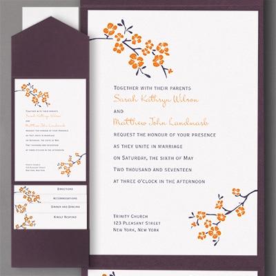 Inflorescence - Pocket Invitation