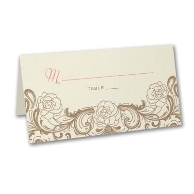 Timeless Flourish - Place Card