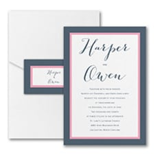 Loving Embrace - Pocket Invitation