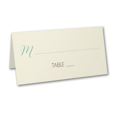 One Love - Place Card