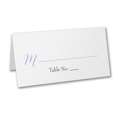 Two of a Kind - Place Card