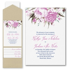 Pocket Invitation: Enchanted Garden