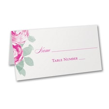 Lovely Roses - Place Card