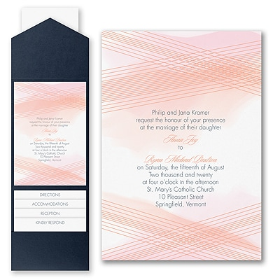 Simply Perfection - Invitation with Pocket