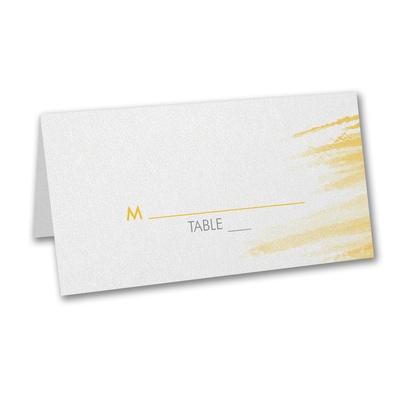 Color Splash - Place Card