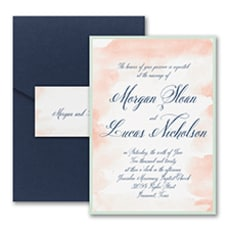 Romantic Watercolor - Wedding Invitation