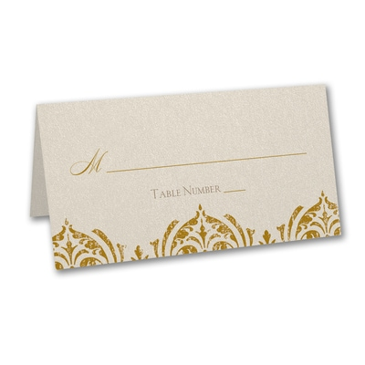 Delicate Romance - Place Card