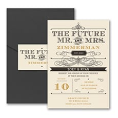 Future Promises - Pocket Invitation