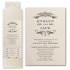 Pocket Invitation: Elegant Deco