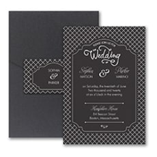Exquisite Day - Pocket Invitation