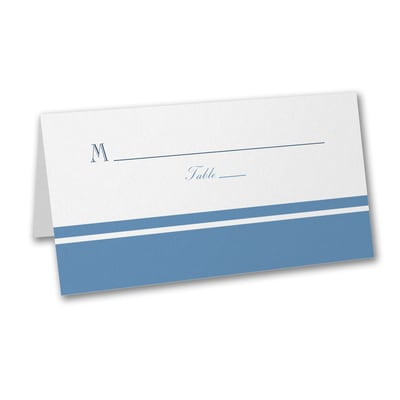 Modern Charm - Place Card