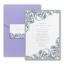 Pocket Invitation: Formal Flourish