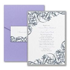 Formal Flourish - Pocket Invitation