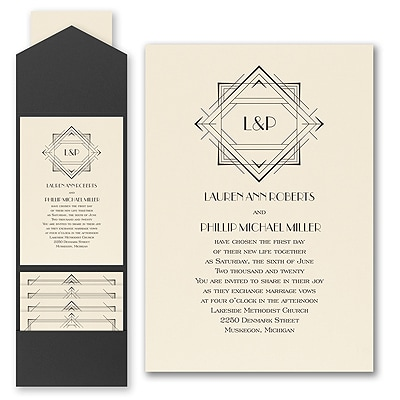 Darling Deco - Invitation with Pocket