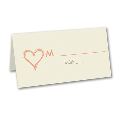 Modern Love - Place Card