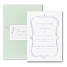 Whimsical Elegance - Pocket Invitation