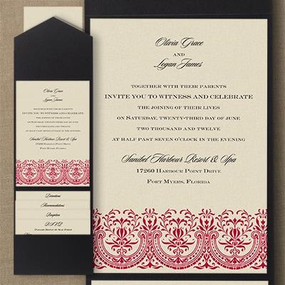 Hearts of Glory - Pocket Invitation