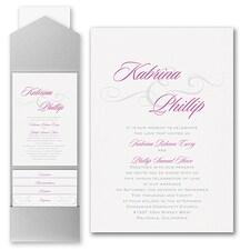 Pocket Invitation: Charming Type