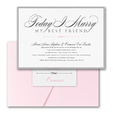 Marry Today - Wedding Invitation