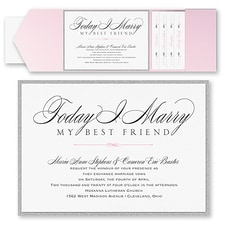 Pocket Invitation: Marry Today