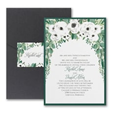 Greenery Garden - Modern Invitation