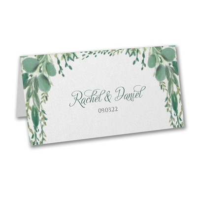 Greenery Garden - Place Card