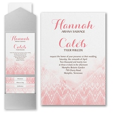 Modern wedding Invitation: Dreamy Macramé