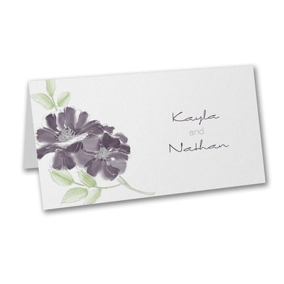 Hand-Drawn Floral - Place Card