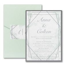 Dazzling Geometric - Pocket Invitation